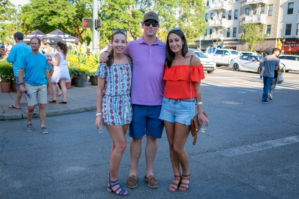 Leanne Karpacs, Mark Cupito, and Summer Maghathe{ }/ Image: Mike Bresnen Photography