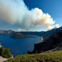 Evacuation notice issued for Crater Lake