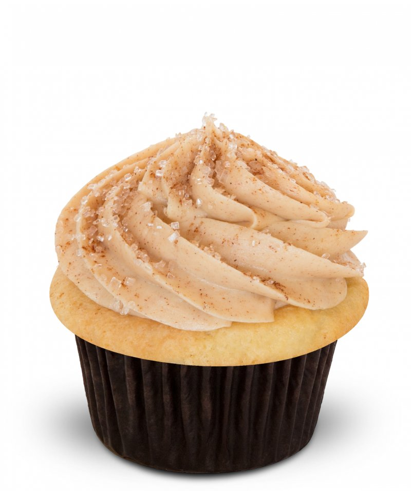 Almond Snickerdoodle Cupcake{ }(Photo: Trophy Cupcakes)