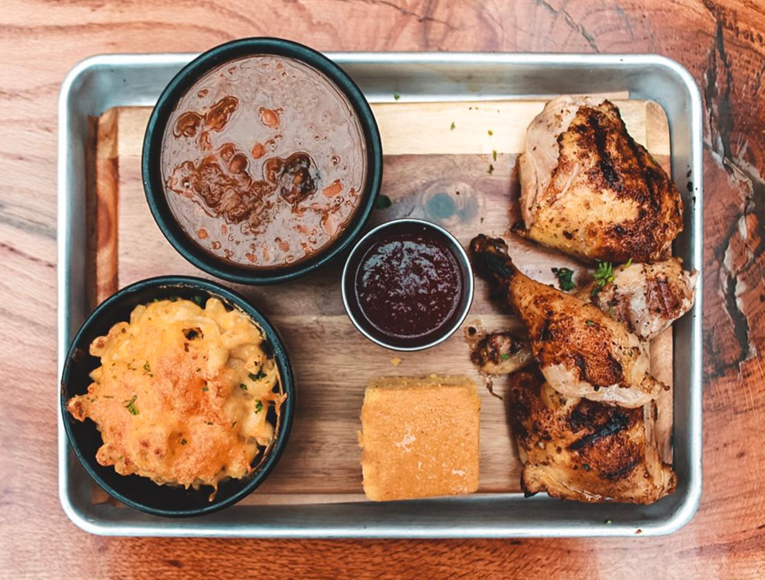 Pinehurst Brewing. Co. has got smoky BBQ and cold beers waiting for hungry golfers.{ }{ }(Image: Courtesy Pinehurst Resort)