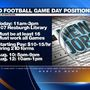 Notre Dame job fair hiring security