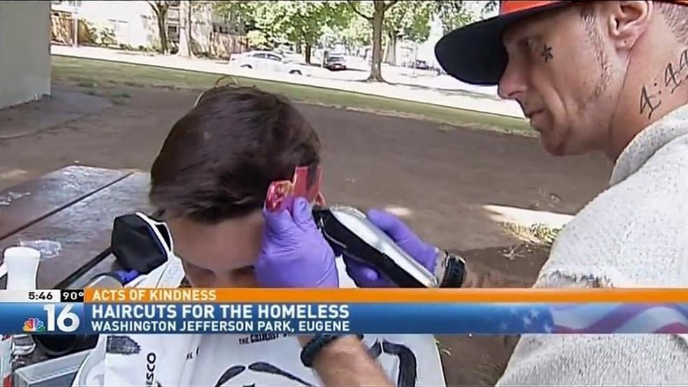 Acts Of Kindness Haircuts For Homeless Part Of Mans Recovery Kmtr