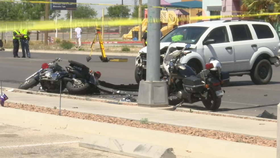 Two wrecks involving officers during funeral processions within past week