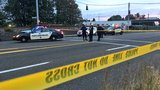 Fatal vehicle and pedestrian crash closes N. Columbia Blvd. in both directions