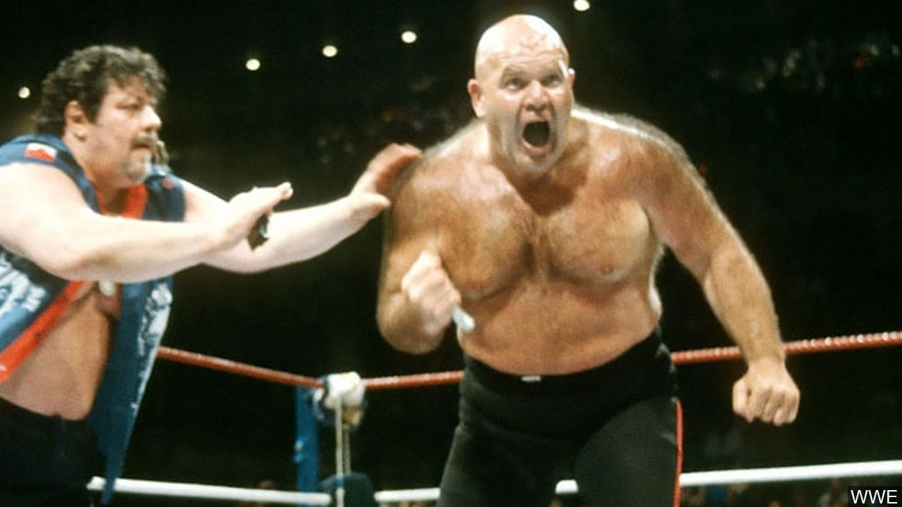 Professional wrestler George &quot;The Animal&quot; Steele died Feb. 16, 2017. He was 79. (WWE/MGN Online)<p></p>