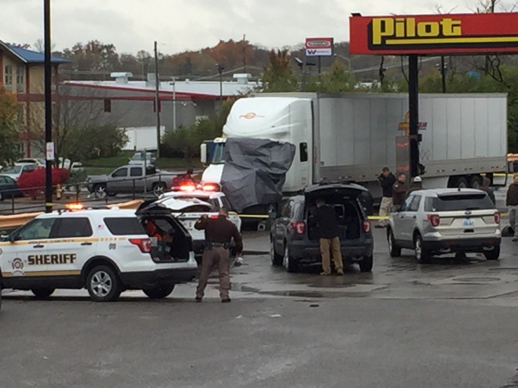 Deputies say one person shot another at the truck stop in Boone County, then shot and killed himself (Joe Webb, WKRC)<p></p>