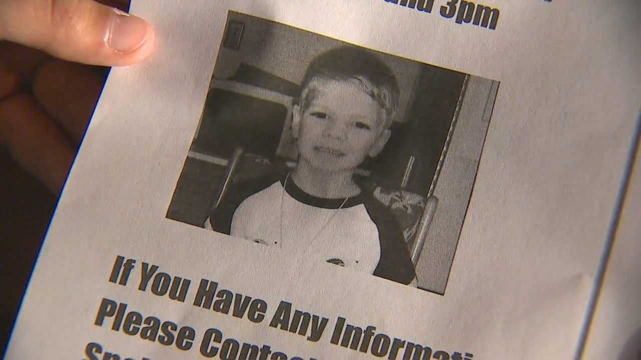 The body of 6-year-old David Pakko was found in a trash bin after an intensive overnight search. (KOMO News photo)