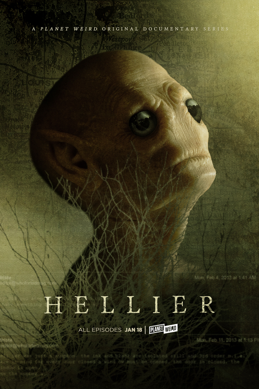 Poster from the upcoming docu-series 'Hellier' // Published: 1.11.19