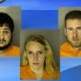 Three arrested after blood-covered, half-naked man walks into gas station near Conway