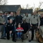 Gray County Sheriffs wish young law enforcement fan a happy birthday