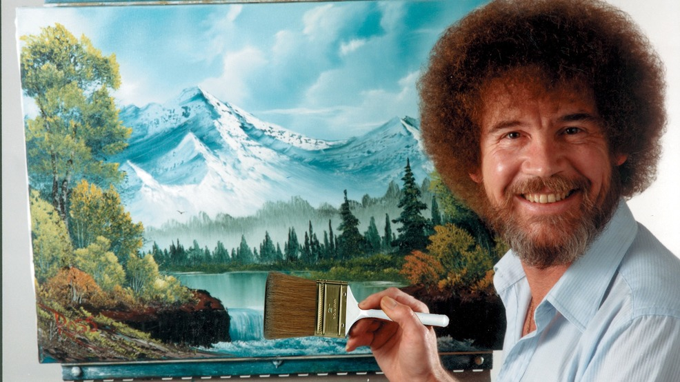 24 Bob Ross pieces on display in Virginia