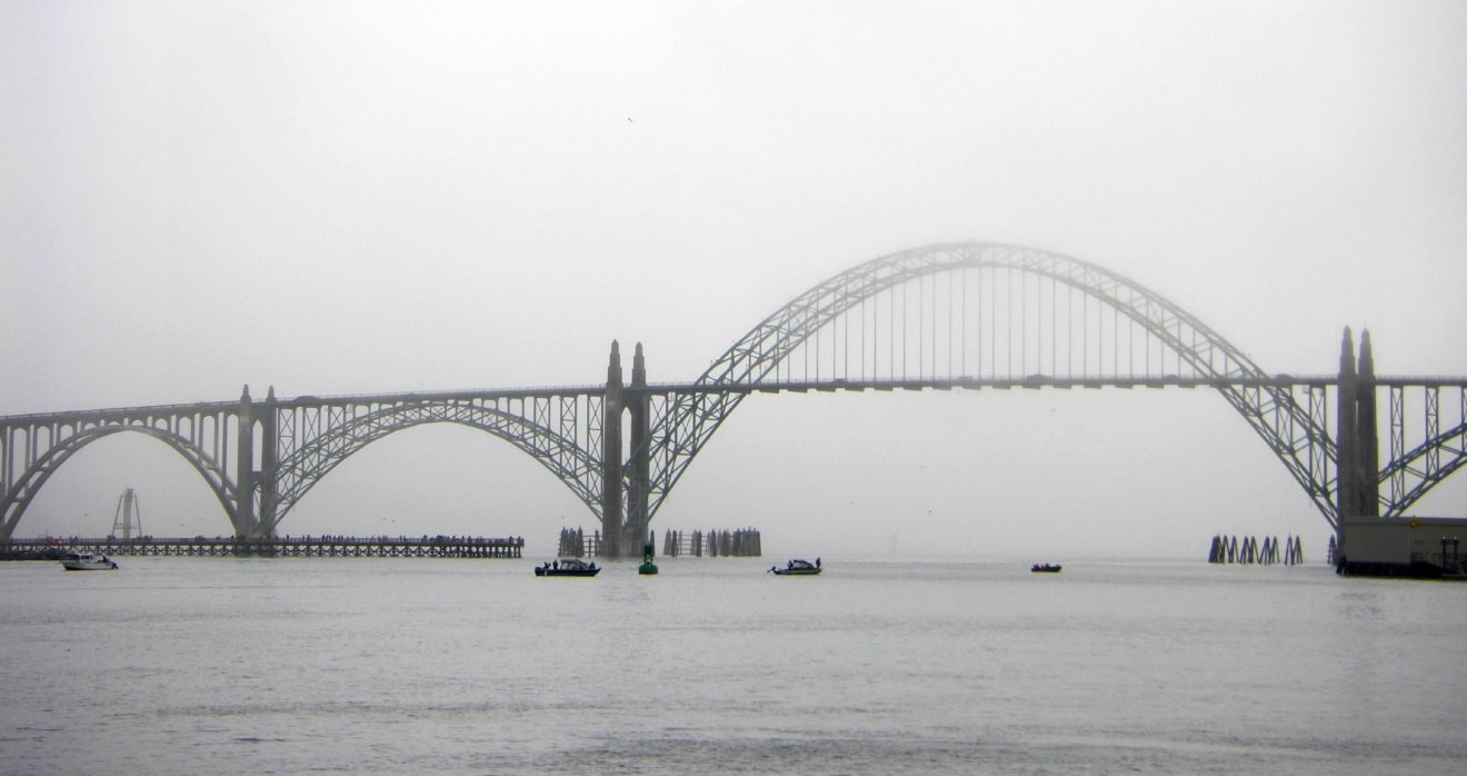 Yaquina Bay Bridge (Ginger Lawson/CC by 2.0)