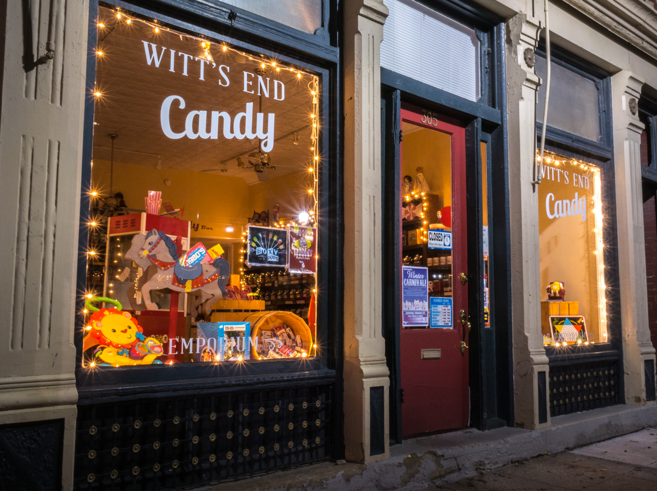 Witt's End Candy Emporium brings back the magic of old-timey candy shops with glass jars and barrels filled with treats. Pixie Stix, Moon Pies, gummy worms, saltwater taffy, and tons of others are available for purchase. ADDRESS: 305 Fairfield Ave., Bellevue, KY 41073 / Image: Phil Armstrong, Cincinnati Refined // Published: 2.17.17
