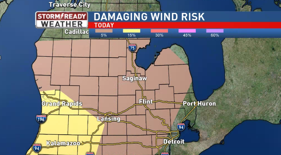 The damaging wind threat on Saturday night.{&amp;nbsp;}{&amp;nbsp;}<p></p>