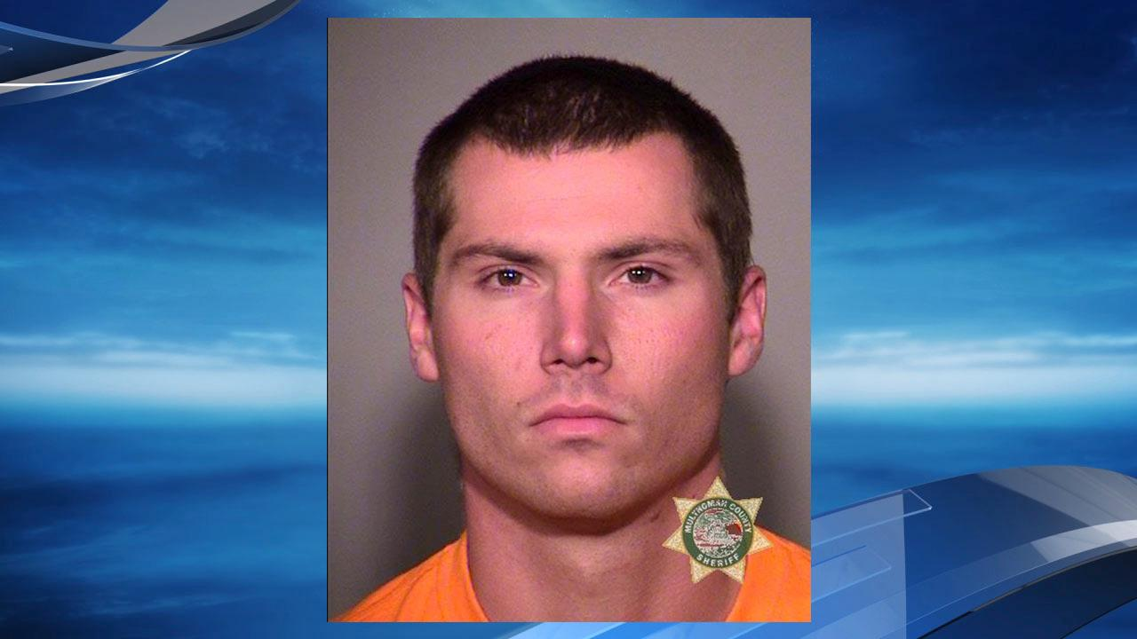 Cody Cunningham mug shot courtesy Multnomah County Jail. Cunningham, 23, was arrested on charges of theft by deception and a parole violation, said Multnomah County Sheriff Mike Reese. Cunningham pretended to be a firefighter and tried to get clothing and gear from a firefighting crew, Reese said.