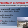 National Weather Service: 'This is not the time to be on beaches or jetties'