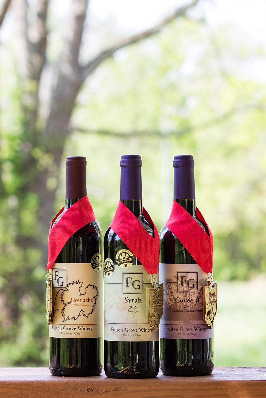 The wines have won multiple awards, even best in show in the 2018 Ohio Wine Competition. / Image: Allison McAdams // Published: 5.30.19
