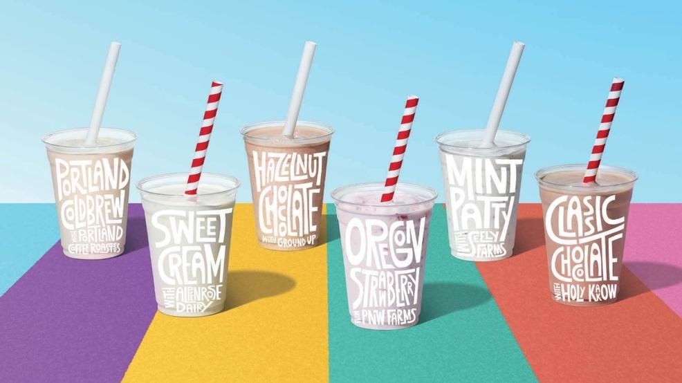 Burgerville shakes up milkshake menu with six local flavors