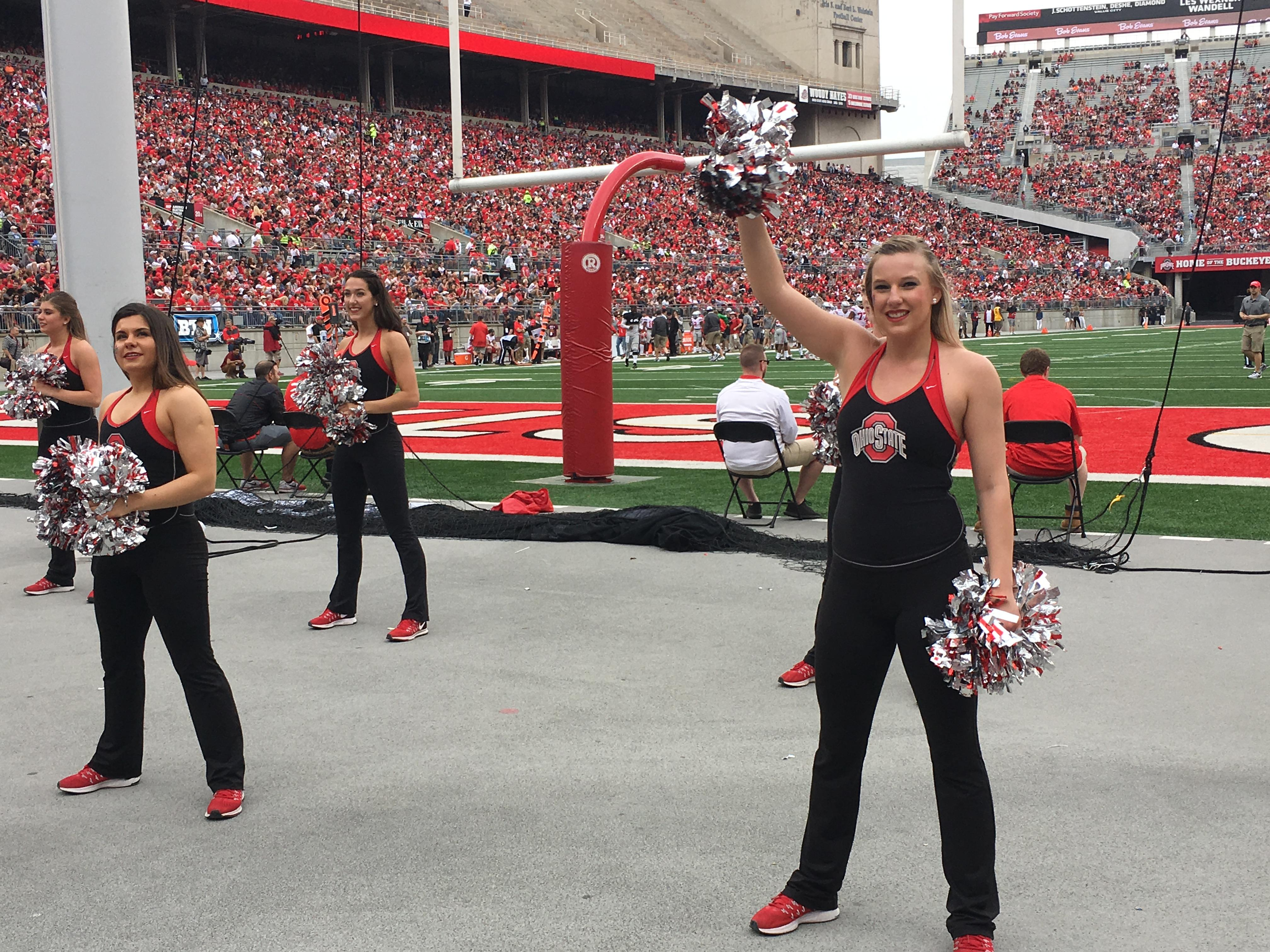 OSU cheerleaders