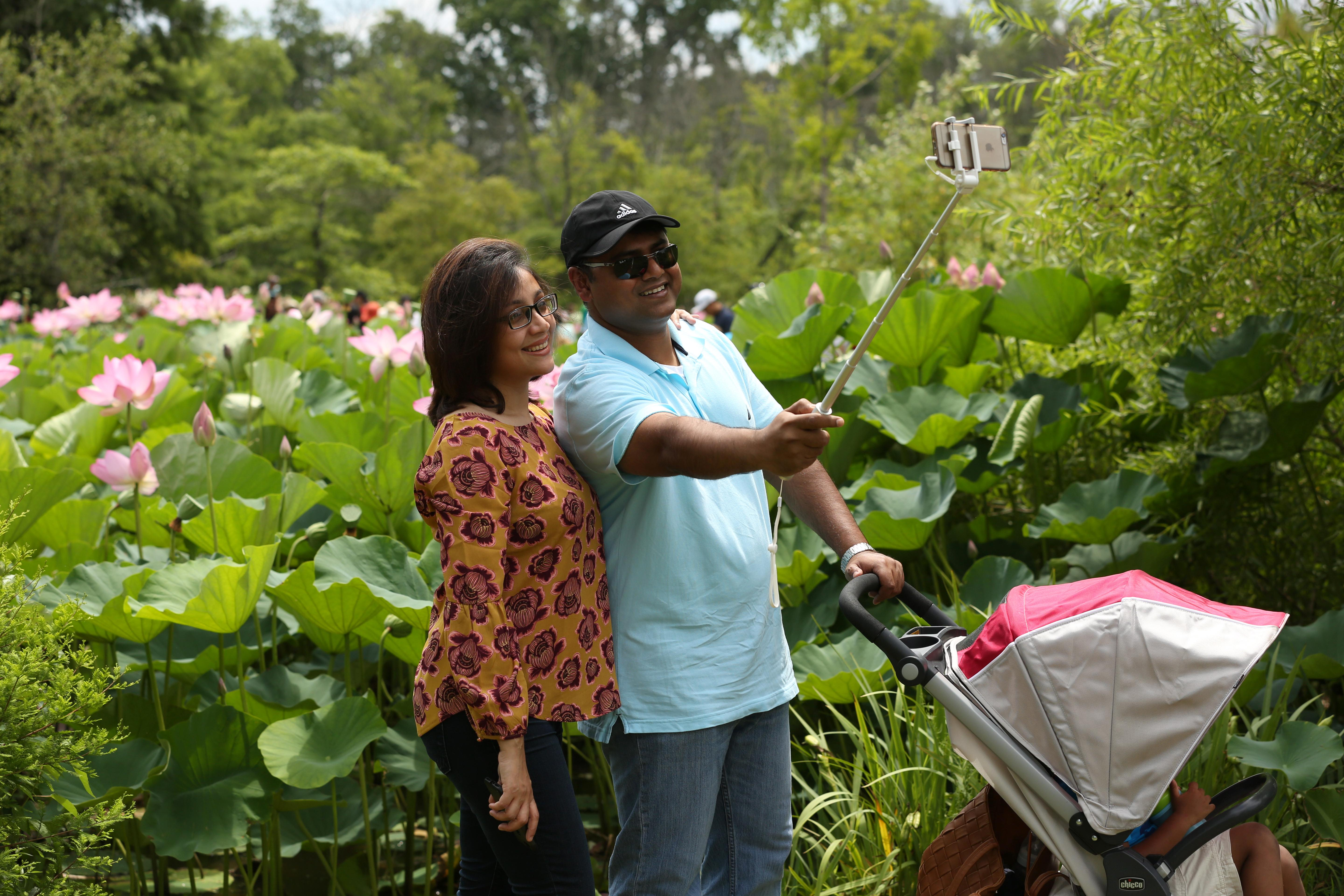 The fun was in full bloom at the Lotus and Water Lily Festival Kenilworth Park and Aquatic Gardens in Anacostia. Visitors were able to check out the stunning flowers while taking in performances from other cultures and snapping selfies. (Amanda Andrade-Rhoades/DC Refined)