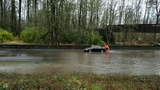 Rain causes some Lane County roads to flood