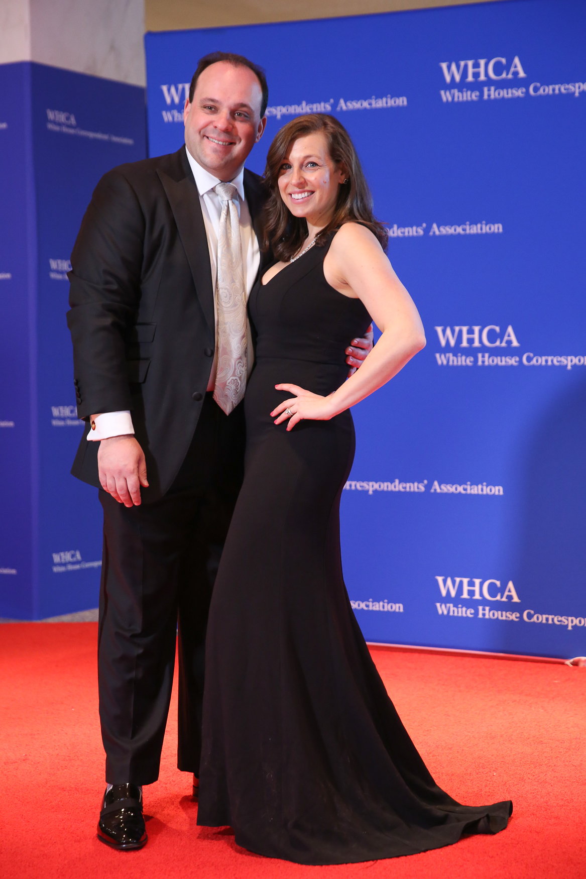 Boris Epshteyn and wife Lauren Tanick. (Amanda Andrade-Rhoades/DC Refined)