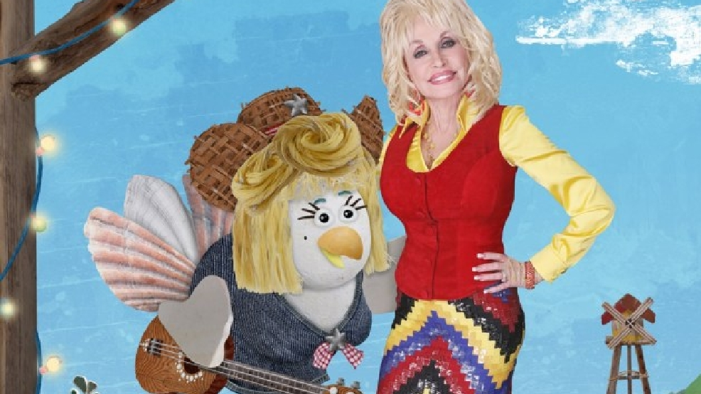 Dolly Parton voicing singing chicken for kids' show