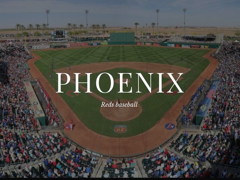 "<p>LOCATION: Phoenix / MILES FROM CINCY: 1,577 / REASON TO VISIT: The Reds! And of course that ""dry heat"" everyone keeps talking about. But more, the Reds. They do their spring training in Phoenix at Goodyear Park, an 8,000 seat stadium that isn't a bad place to watch a ballgame (especially in March, when your baseball withdrawal is at its most severe). Phoenix ain't half bad as a destination city either. And the best part is Southwest Airlines offers flights that align with the Reds being down there, March 8-April 7. / Image courtesy of the Cincinnati Reds // Published: 1.26.18</p>"