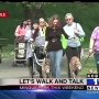 9th annual 'Let's Walk & Talk' event for women takes place Saturday