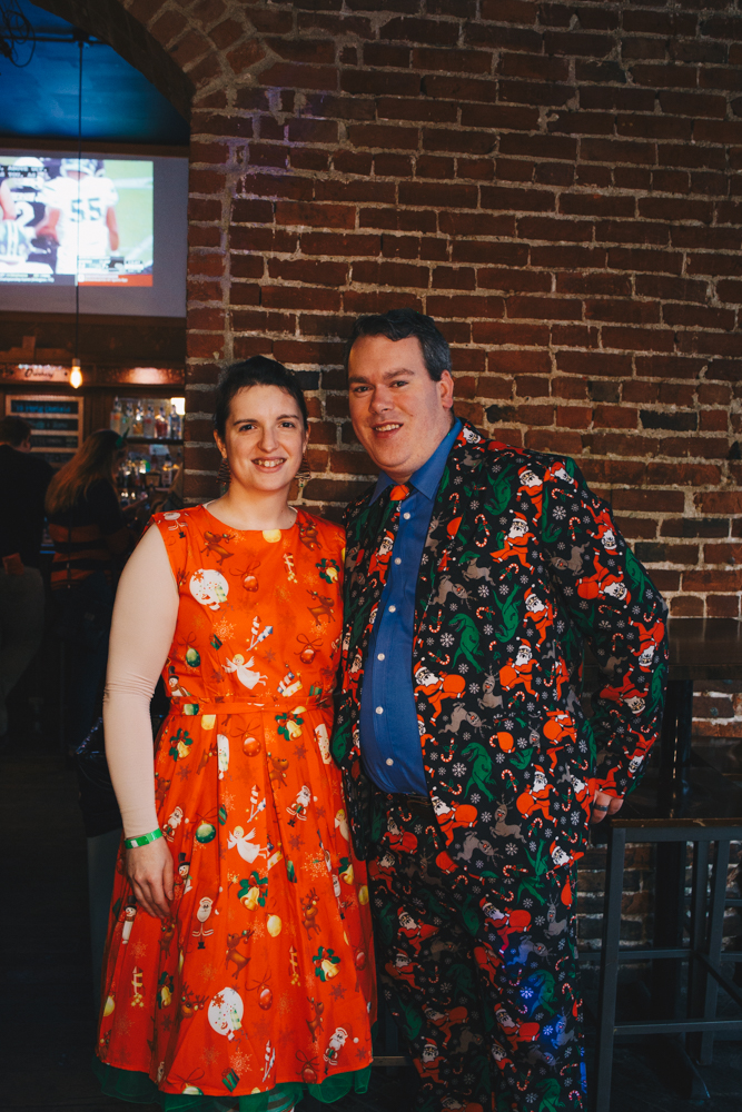 Jennier and Shawn Pettit{ }at Drinkery / Image: Catherine Viox // Published: 12.2.18