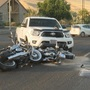 Bridge Street Crash: 2 motorcyclists hit when pickup fails to yield
