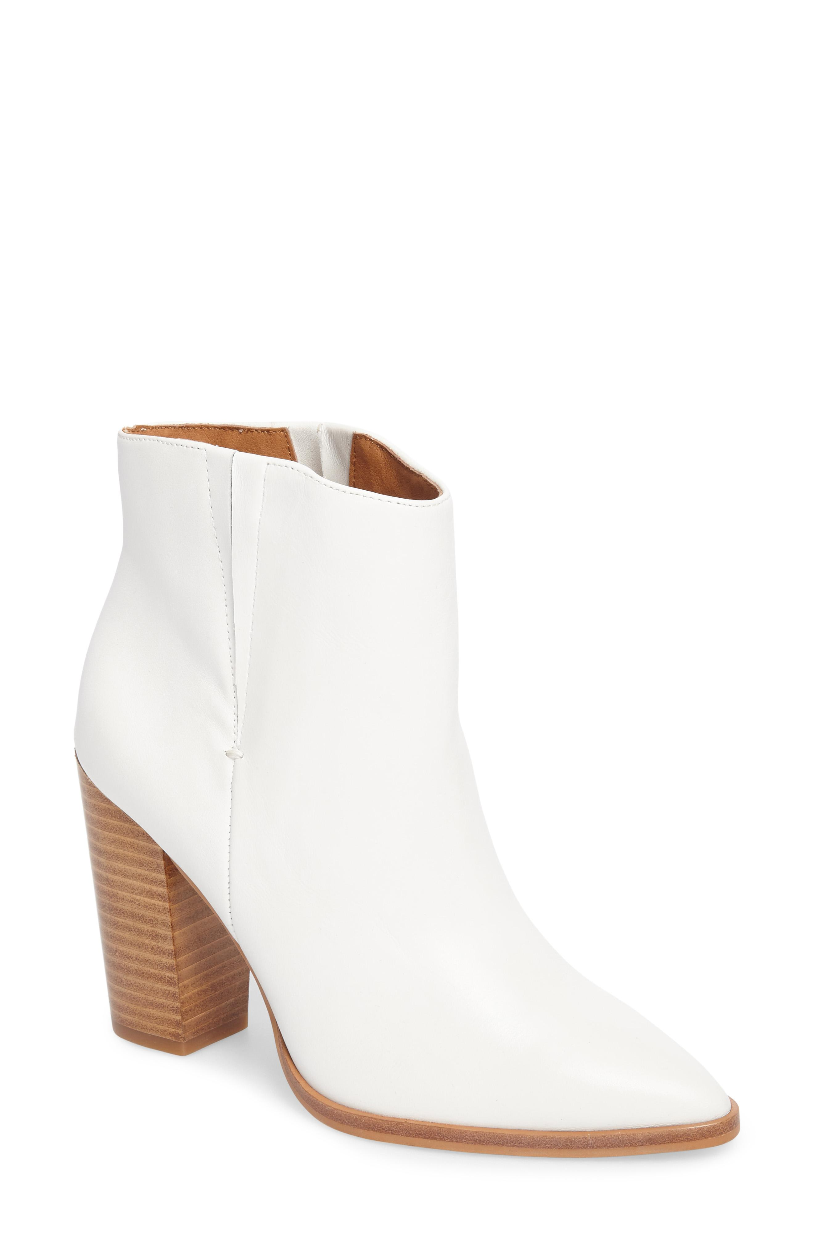 Halogen, Brock Bootie, $119.95,{&amp;nbsp;}can be purchased at Nordstrom.com{&amp;nbsp;}(Image: Courtesy Nordstrom)<p></p>