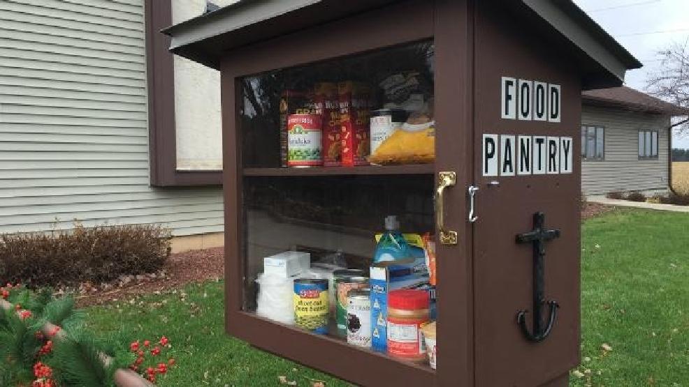 Milton Church Starts Little Free Pantry Wmsn
