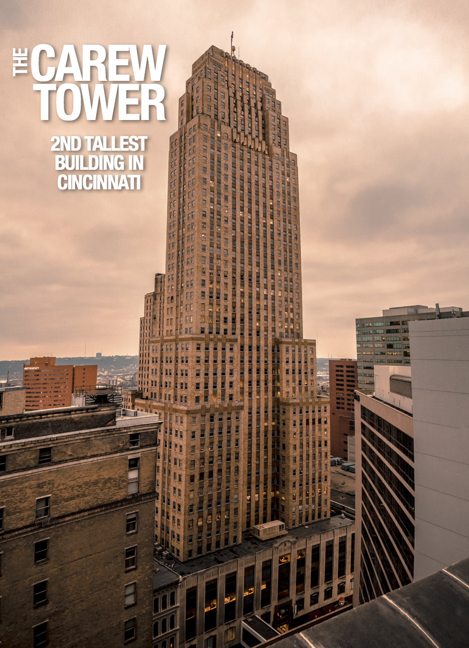 "Pictured: Carew Tower from the gallery ""The Top 10 Tallest Buildings In Downtown Cincinnati"" / Image: Phil Armstrong // Published: 12.31.17"