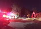 House fire on G Street in Sparks