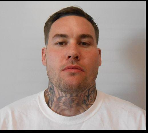 Jacob Wofford, 32, has a long criminal history. Most recently, he served a nine-year sentence for being a felon in possession of a firearm. He just got out in August and was supposed to serve three years of supervised release. (Photo courtesy: Lone Star Fugitive Task Force)