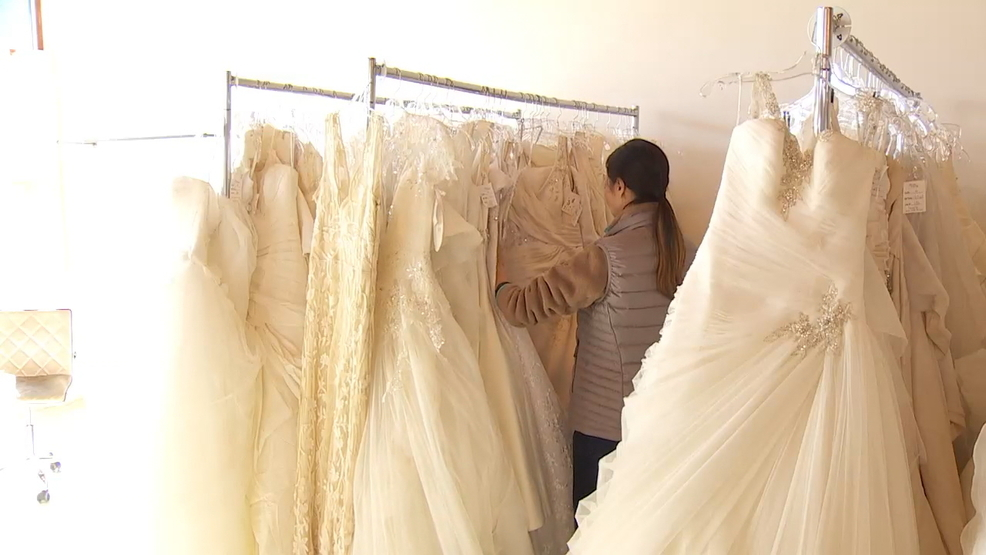 Military and first responder brides get free dresses via for Free wedding dresses for military brides