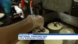 Home of the original 'Hot Cake King' celebrates National Pancake Day