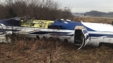 Batavia business owner suffers minor injuries after plane skids off runway