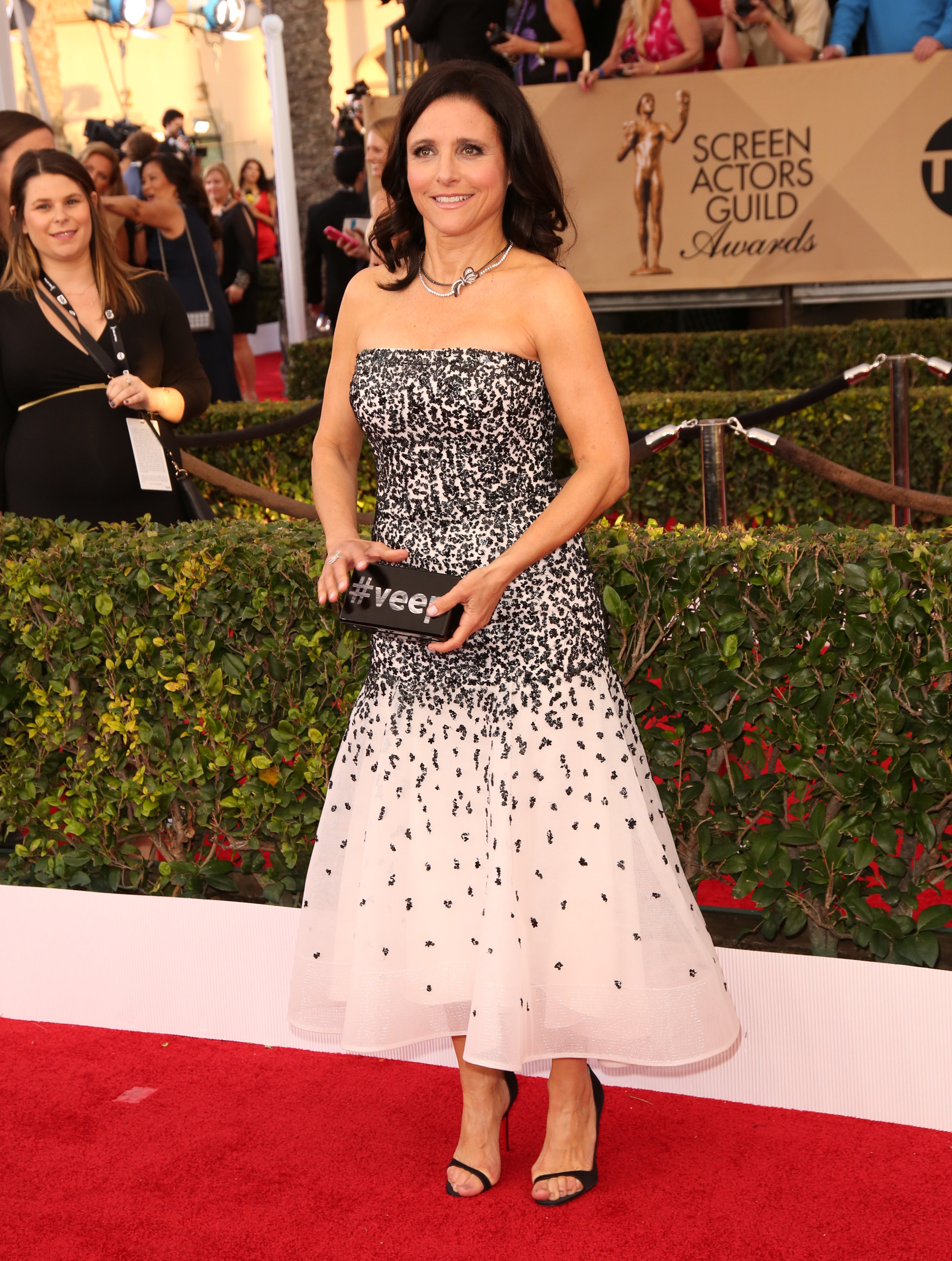 22nd Annual Screen Actors Guild Awards at The Shrine Expo Hall - ArrivalsFeaturing: Julia Louis?DreyfusWhere: Los Angeles, California, United StatesWhen: 30 Jan 2016Credit: Brian To/WENN.com