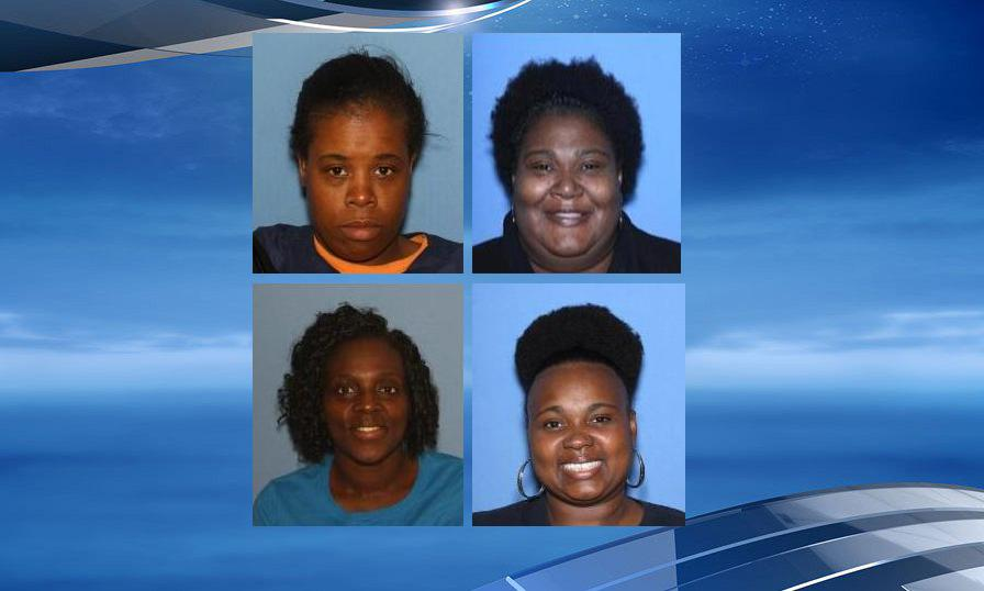 Felicia Ann Phillips,42, former driver of the van (top left), Pamela Lavette Robinson,43, former Van Rider (top right), Wanda Taylor,43, former Transportation Supervisor (bottom left), and Kendra Washingon, 40, former Director Designated Van Safety Inspector (bottom right) have been charged with manslaughter in the death of 5-year-old Christopher Gardner Jr.  (Photo: West Memphis Police Department)