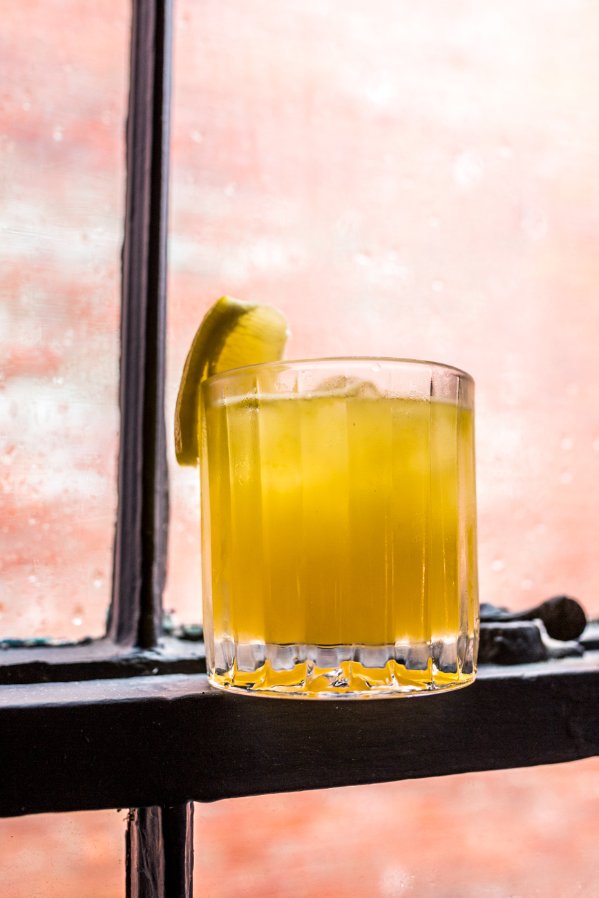 Front Porch: lemonade, orange juice, bourbon, and served over ice / Image: Catherine Viox // Published: 7.30.19