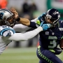 Seahawks defeat Panthers but lose defensive superstar