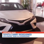 Redesigned Toyota Camry now in Bob Tyler Toyota showroom