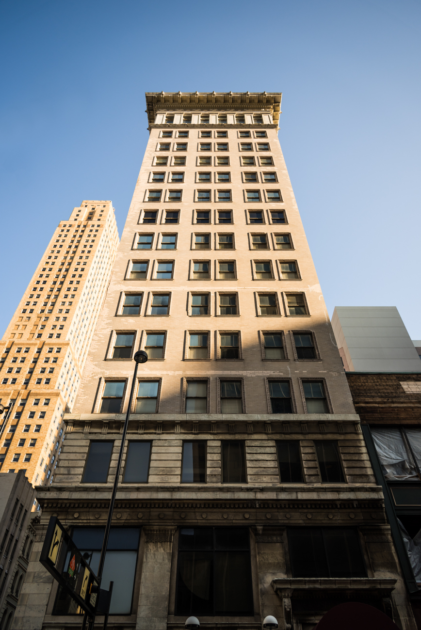 PICTURED: Ingalls Building / 4th Street is one of Downtown Cincinnati's oldest, most versatile thoroughfares. From modern skyscrapers full of offices to long-lasting 19th century mainstays that provide homes for urban dwellers, there's no telling what you'll find from block to block. / Image: Phil Armstrong, Cincinnati Refined // Published: 4.13.17