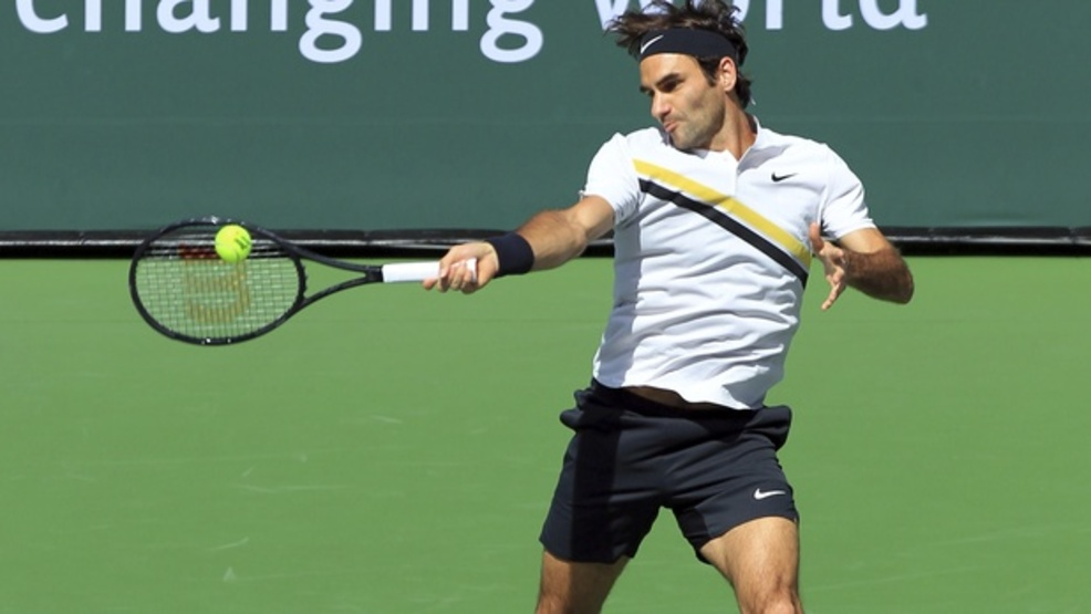 Roger Federer will have a much-needed day to rest before facing Jeremy Chardy at Indian Wells. (AP)