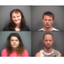 Four arrested on drug charges in Clare County