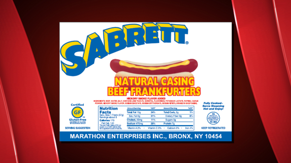 One of the labels from products being recalled by Marathon Enterprises (FSIS).png