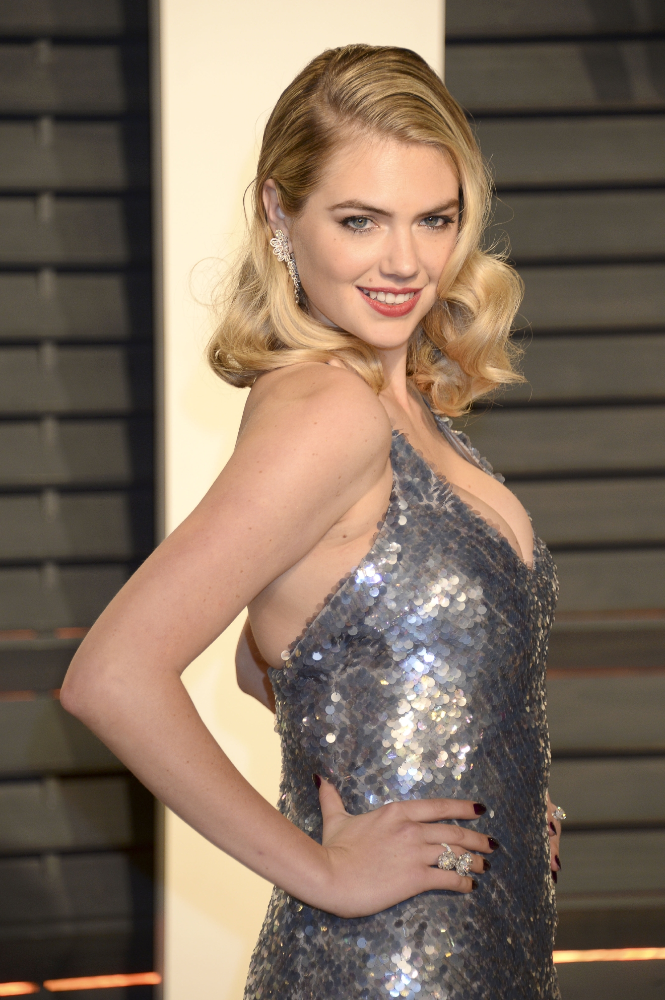 2017 Vanity Fair Oscar Party hosted by Graydon Carter at Wallis Annenberg Center for the Performing Arts - Arrivals  Featuring: Kate Upton Where: Los Angeles, California, United States When: 26 Feb 2017 Credit: Dennis Van Tine/Future Image/WENN.com  **Not available for publication in Germany**