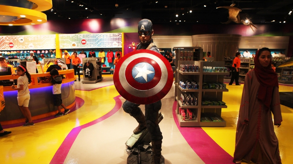Dubai opens massive Marvel-branded indoor theme park